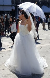 שמלת כלה איטלקית