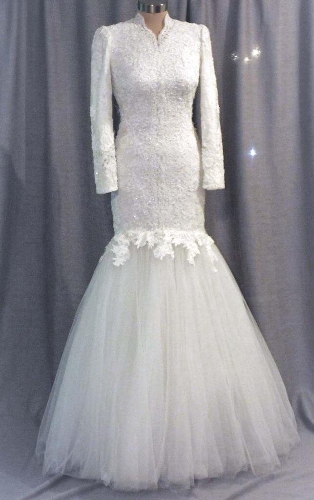 שמלת כלה אלגנטית 2
