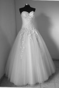 שמלת כלה עם תחרה ילנה אשדוד