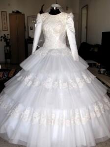 שמלת כלה לדתיה ילנה באשדוד