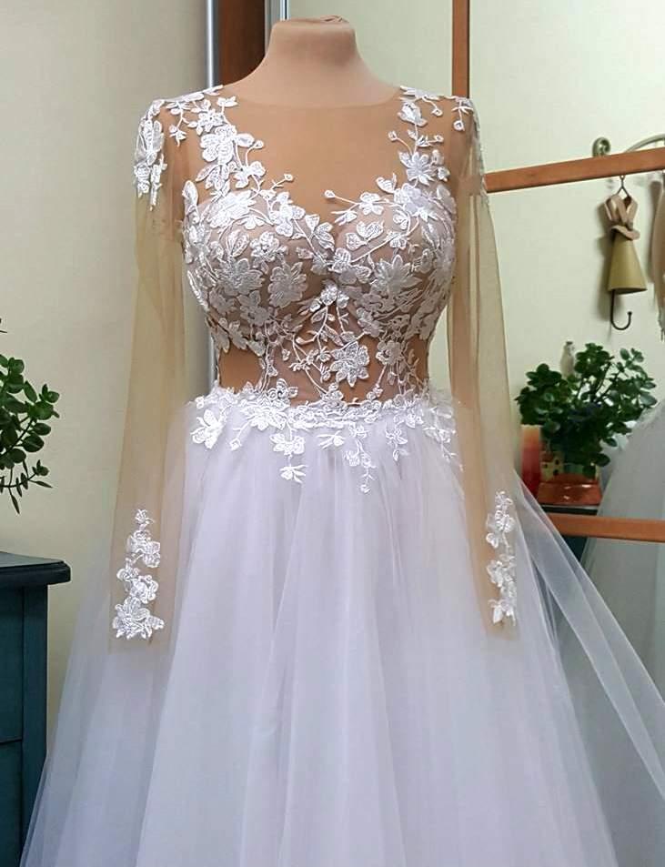 שמלת כלה סקסית בעיצוב ילנה אשדוד