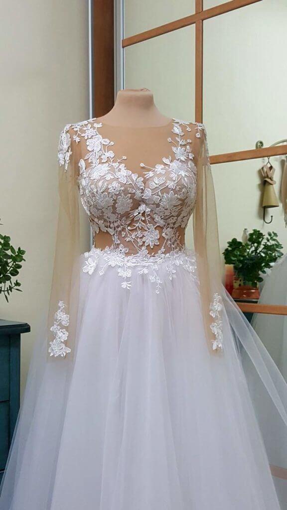 שמלת כלה סקסית בעיצוב ילנה