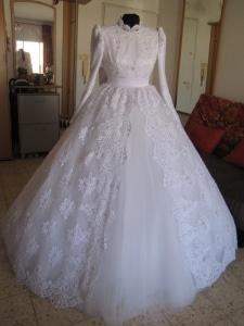 שמלת כלה צנועה באשדוד שמלות כלה לדתיות