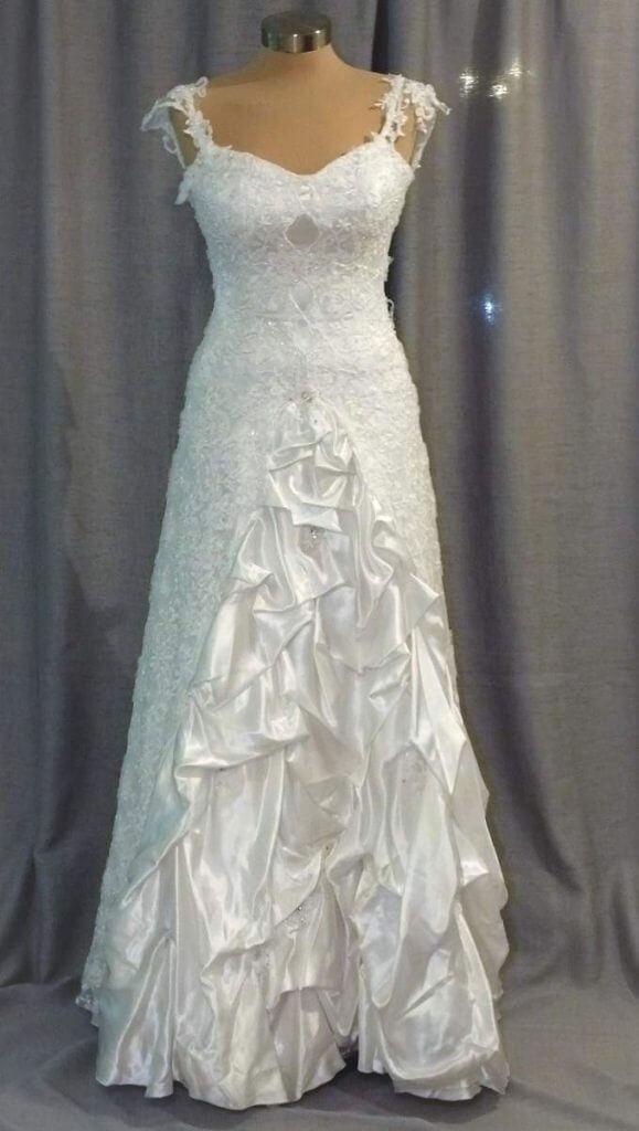 עיצוב שמלת כלה מהממת ילנה רזנוביץ