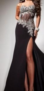 שמלת ערב סקסית