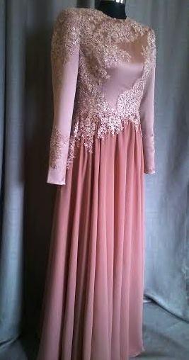 שמלת ערב עם חרוזים לדיות