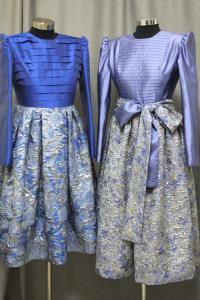 שתי שמלות ערב צנועות